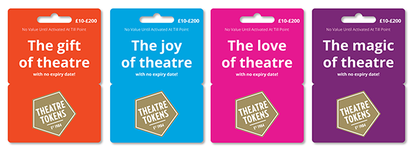 Theatre Tokens Gift Cards available in Sainsburys