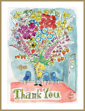 A Very Big Thank You Greeting Card