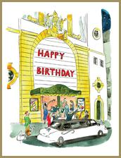 Happy Birthday facade