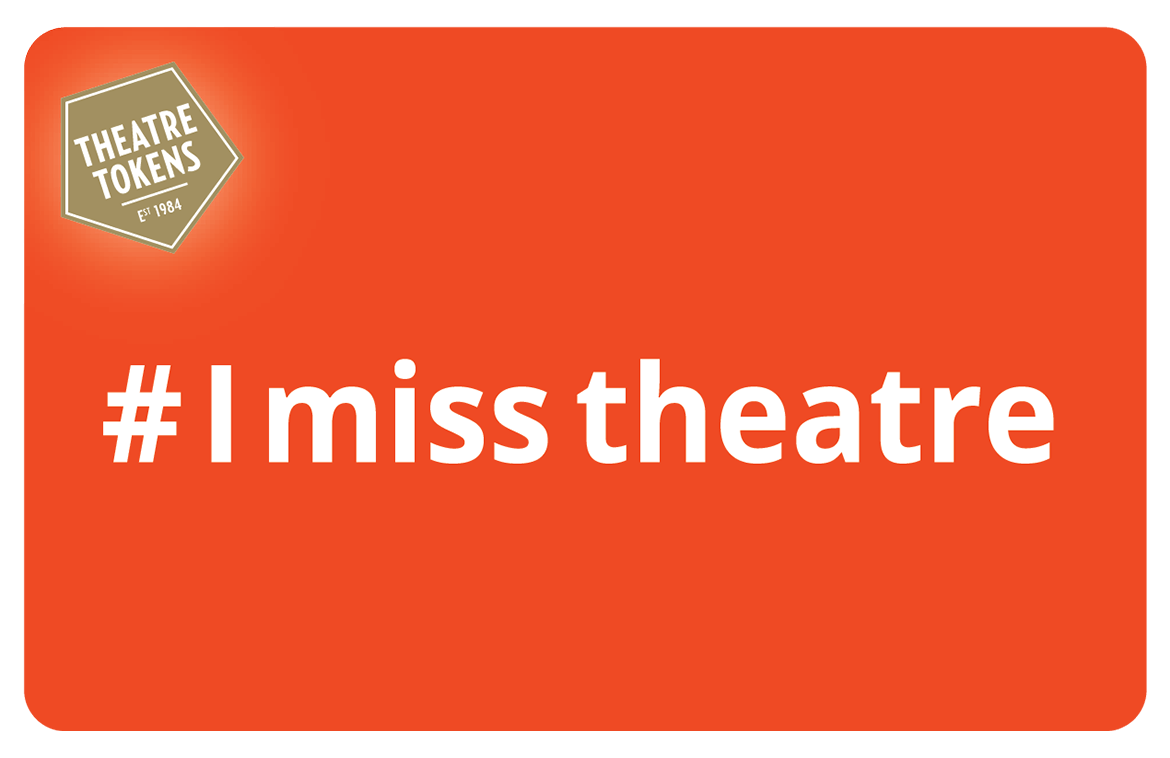 eGift - I Miss Theatre (Orange)