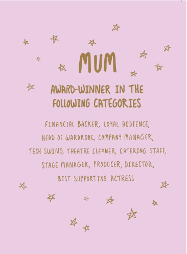 Mum Award Card